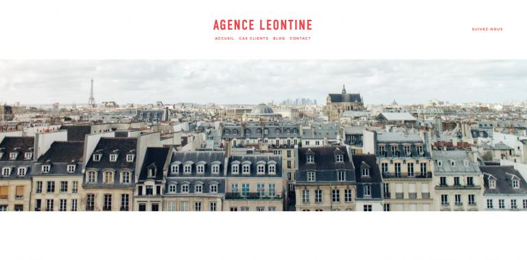 Site Agence Léontine