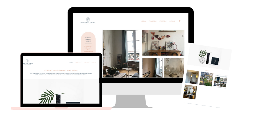 Cas client studio anne fortier site web